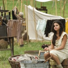 In Dubious Battle: Selena Gomez in una scena del film