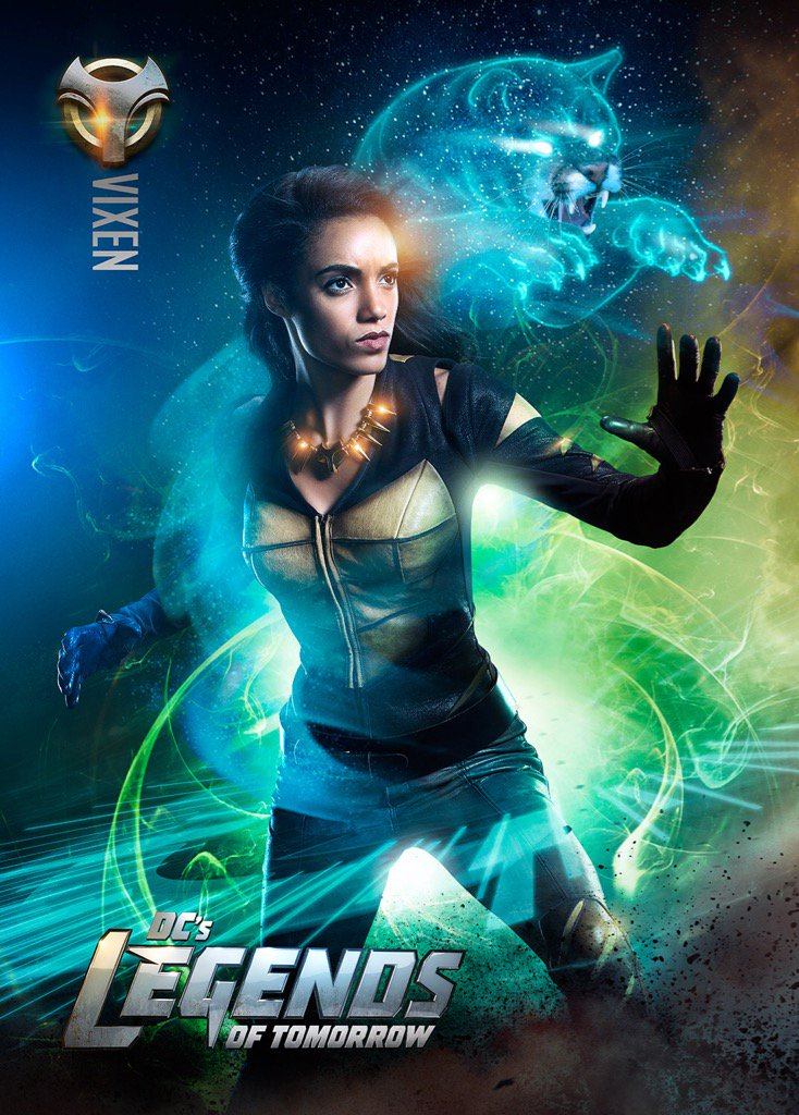 Legends of Tomorrow: un poster dedicato a Vixen