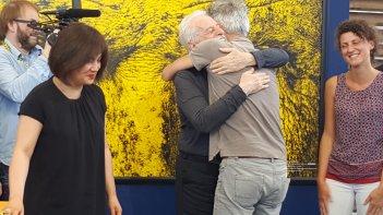 Alejandro Jodorowsky abbraccia il pubblico a Locarno 2016