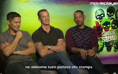 Suicide Squad: Video intervista a Will Smith, Joel Kinnaman e Jay Hernandez