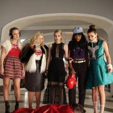 Scream Queens: una foto delle protagoniste nell'episodio The Final Girl(s)
