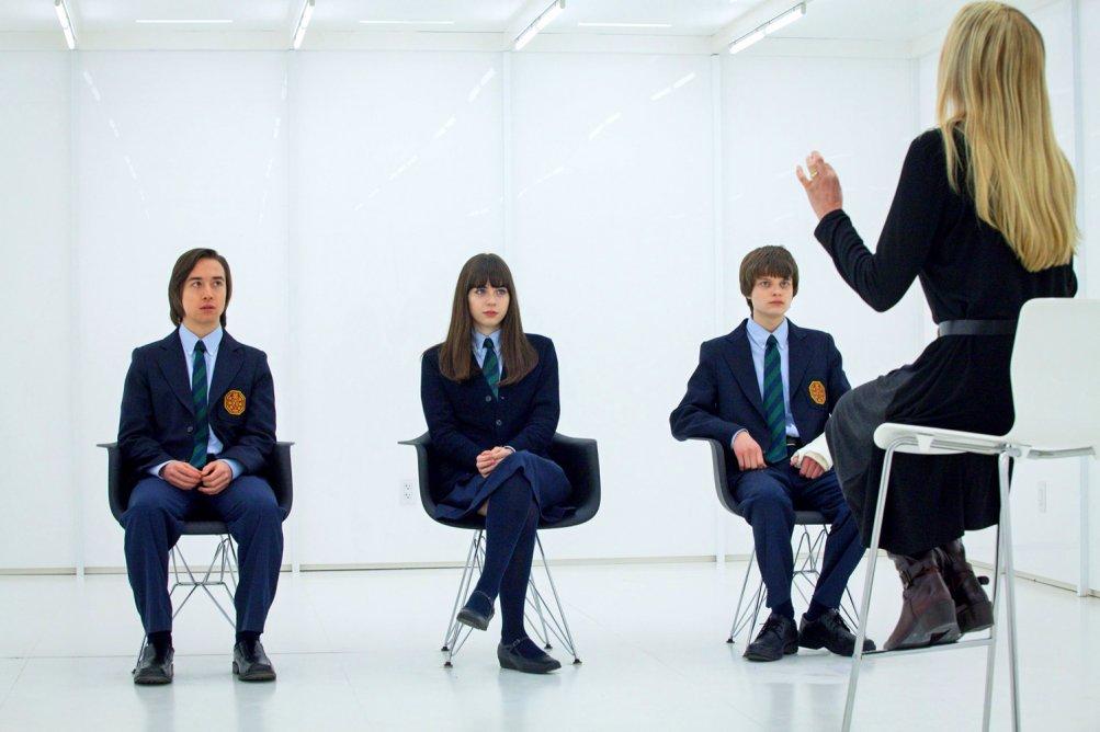 Wayward Pines: un immagine di gruppo dal set della serie