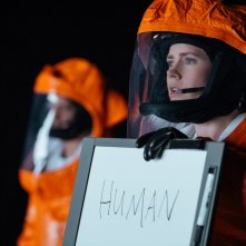 Arrival: Amy Adams in un momento del film