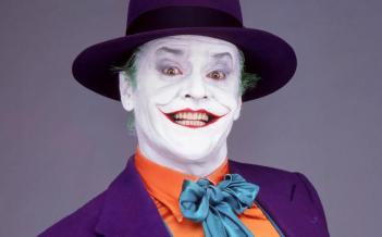 Batman: Jack Nicholson in un'immagine promozionale del film di Tim Burton