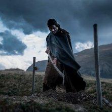 Monte: Andrea Sartoretti in un momento del film