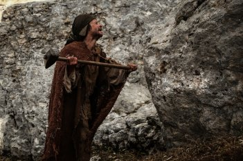 Monte: Andrea Sartoretti in un'immagine tratta dal film