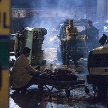 Narcos: gli attori Pedro Pascal e Hoyd Holbrook in una foto della stagione 2