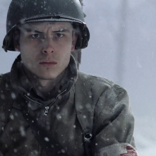 Band of Brothers:  una scena dell'episodio Bastogne con Shane Taylor