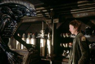 Una scena di Alien