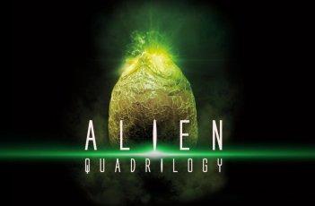 Un'immagine promozionale del cofanetto Alien Quadrilogy