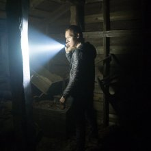 Blair Witch: James Allen McCune in una scena del film