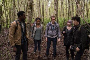 Blair Witch: una scena di gruppo del film