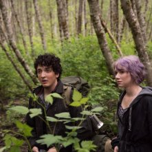 Blair Witch: Wes Robinson e Valorie Curry in una scena del film
