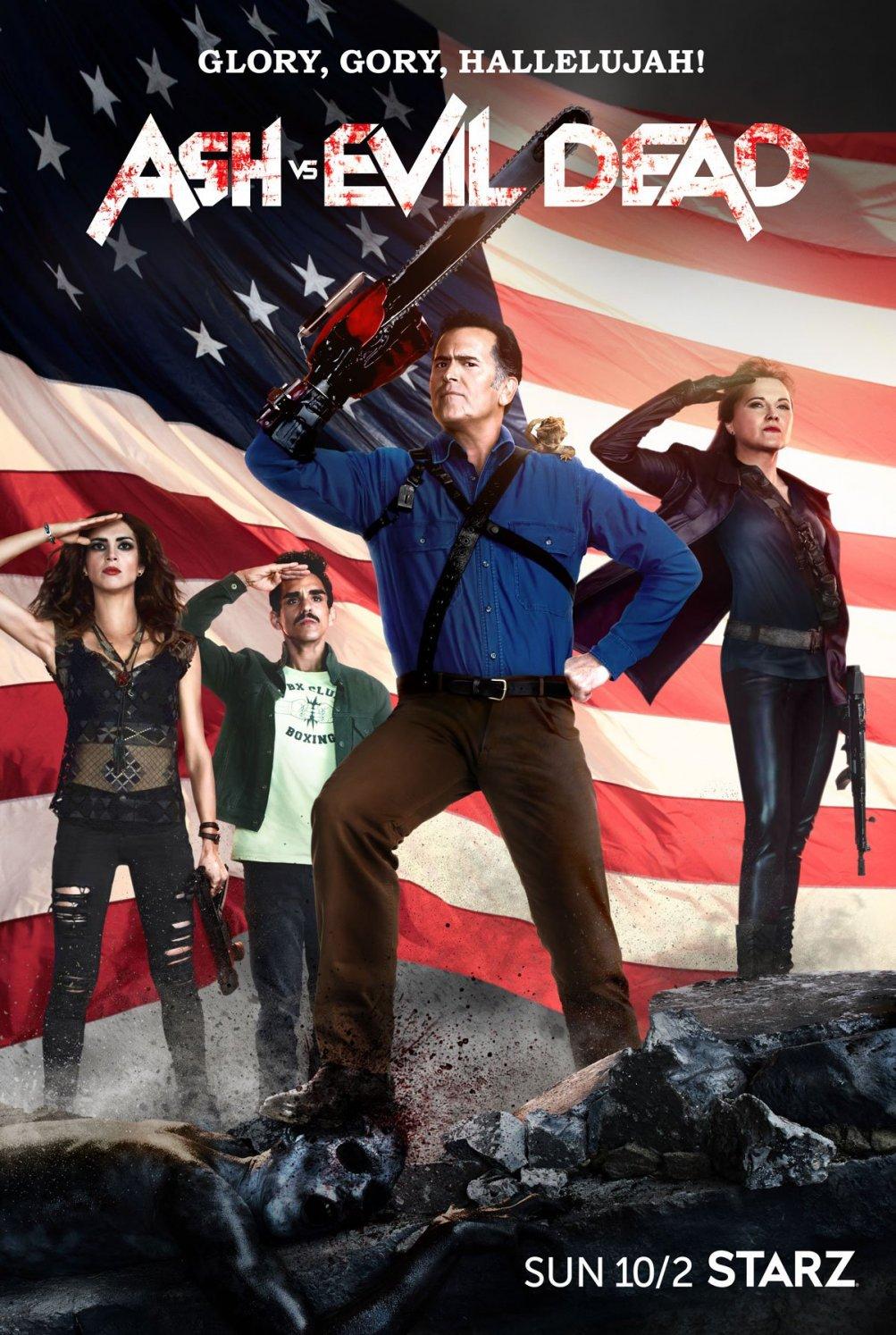 Ash vs. Evil Dead: il nuovo poster della seconda stagione