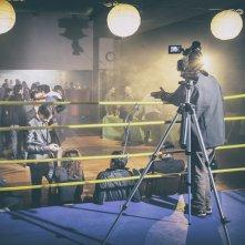 Il vincente: un'immagine dal set del film