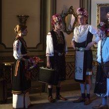 King of the Belgians: una scena del film