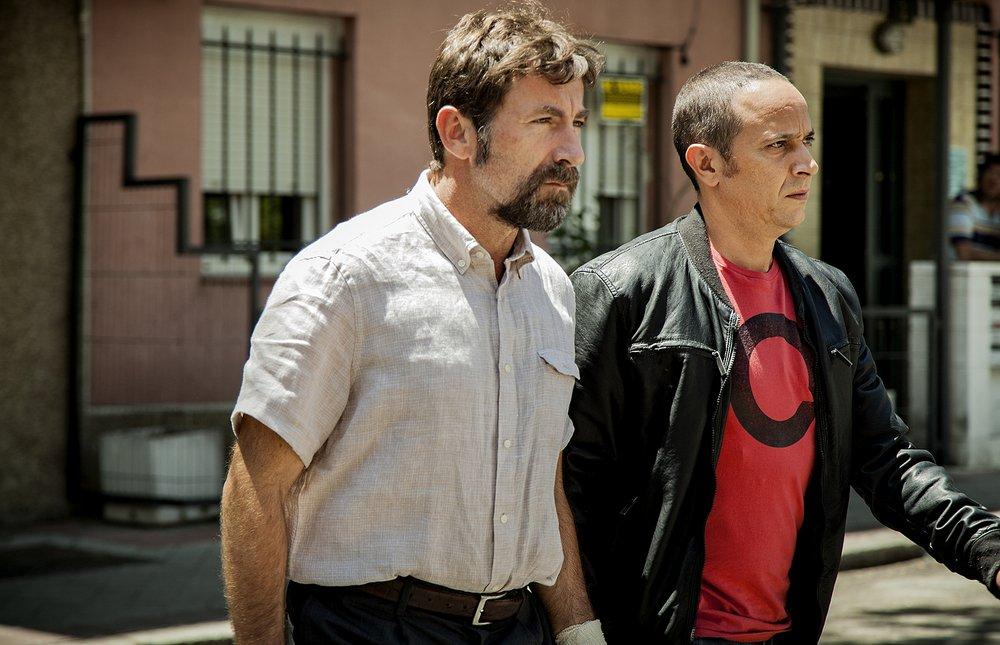 The Fury of a Patient Man: Luis Callejo e Antonio de la Torre in una scena del film
