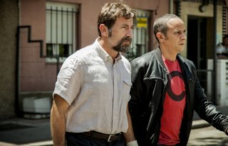 The Fury of a Patient Man: Luis Callejo e Antonio de la Torre in una scena del film