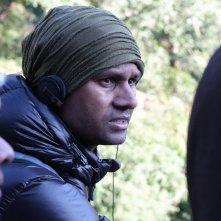 White Sun: il regista Deepak Rauniyar sul set del film