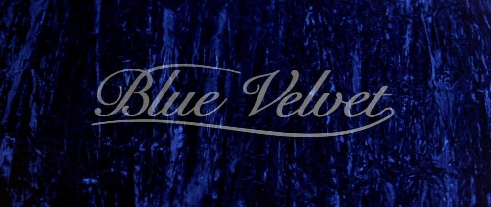 Velluto blu di David Lynch