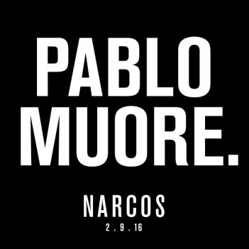 Narcos: un'immagine della promozione di Netflix