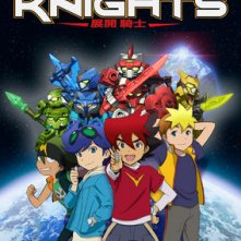 Locandina di Tenkai Knights: I Cavalieri Tenkai