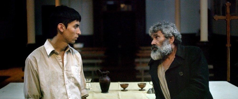 The Blind Christ: Michael Silva in una scena del film