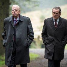 The Journey: Timothy Spall e Colm Meaney in una scena del film