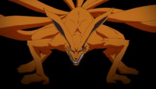 Naruto: immagine della volpe a nove code