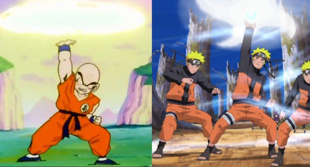 Naruto: Rasen Shuriken Vs Kienzan