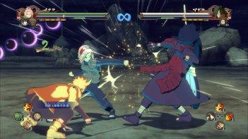 Naruto: uno screenshot di uno dei videogiochi dedicati