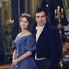 Victoria: Jenna-Louise Coleman in una scena della serie