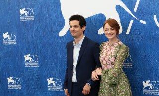 Venezia 2016: Emma Stone e Damien Chazelle al Photocall di La La Land