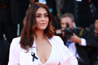 Venezia 2016: uno scatto di Valentina Lodovini sul red carpet