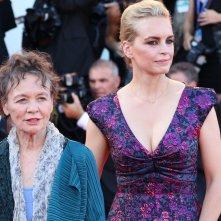 Venezia 2016: Nina Hoss e Laurie Anderson sul red carpet