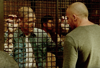Prison Break: Sequel, Wentworth Miller e Dominic Purcell in una scena