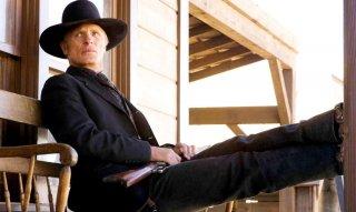 Westworld: Ed Harris in una scena della serie