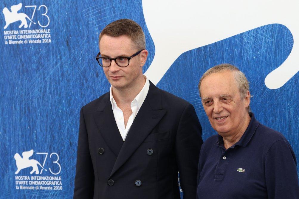 Venezia 2016: Nicolas Winding Refn e Dario Argento al photocall di Dawn of the Dead - European Cut (Zombi)