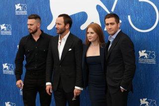 Venezia 2016: Jake Gyllenhaal, Amy Adams, Tom Ford, Aaron Taylor Johnson al photocall di Nocturnal Animals