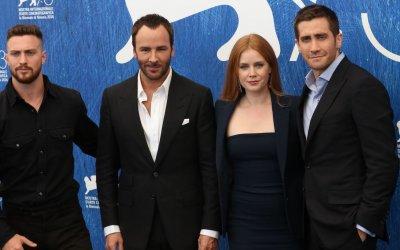 "Amy Adams, Jake Gyllenhaal e Aaron Taylor-Johnson, ""animali notturni"" per Tom Ford a Venezia"