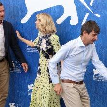 Venezia 2016: Liev Schreibe, Philippe Falardeau e Naomi Watts al photocall di The Bleeder