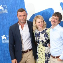 Venezia 2016: Liev Schreiber, Naomi Watts e Philippe Falardeau al photocall di The Bleeder