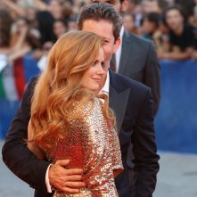 Venezia 2016: Amy Adams in un momento sul red carpet di Nocturnal Animals