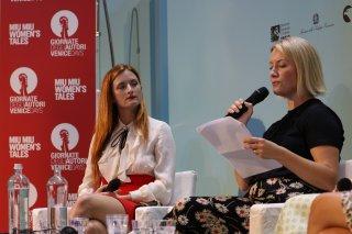 Venezia 2016: Grace Gummer durante l'incontro di Miu Miu Women's tales