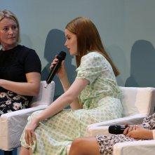 Venezia 2016: Ellie Bamber all'incontro di Miu Miu Women's tales