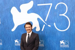 Venezia 2016: uno scatto di James Franco al photocall di In Dubious Battle