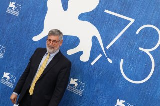 Venezia 2016: uno scatto di John Landis al photocall di An American Werewolf in London