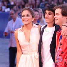 Venezia 2016: Luigi Fedele, Blu Yoshimi e Brando Pacitto sul red carpet di Piuma