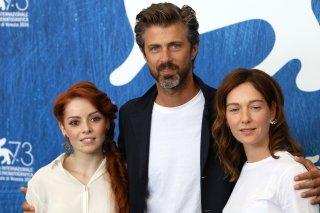 Venezia 2016: Kim Rossi Stuart, Cristiana Capotondi, Camilla Diana al photocall di Tommaso