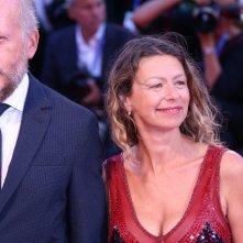 Venezia 2016: Amanda Sandrelli sul red carpet di Jackie